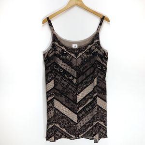 CAbi | Monaco Lace Print Camisole